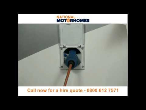 National Motorhomes Exterior Electric Handover Guide - Call now 0800 6127571