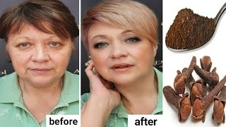 Anti-wrinkle mask, firms the skin and eliminates wrinkles around the eyes and forehead