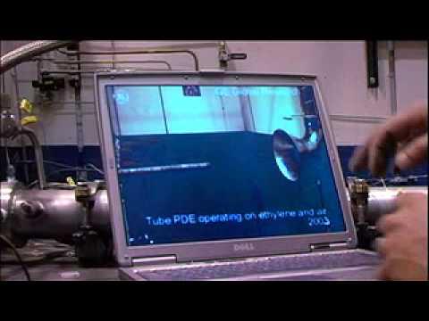 Inside the Pulsed Detonation Engine lab