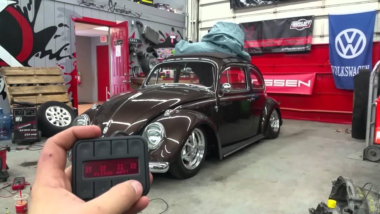 vw beetle air suspension youtube