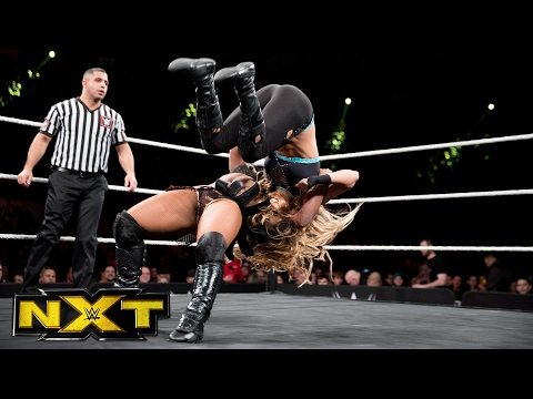 Ember Moon vs. Aliyah: WWE NXT, Feb. 1, 2017