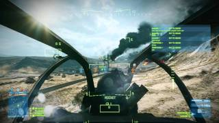How to fly a Helicopter in Battlefield 3 with a Mouse + Keyboard. Battlefield 3 Helicopter tutorial.