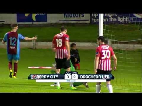 FAI Cup 2015 Last 16 - Derry 3-0 Drogs - 21st August 2015