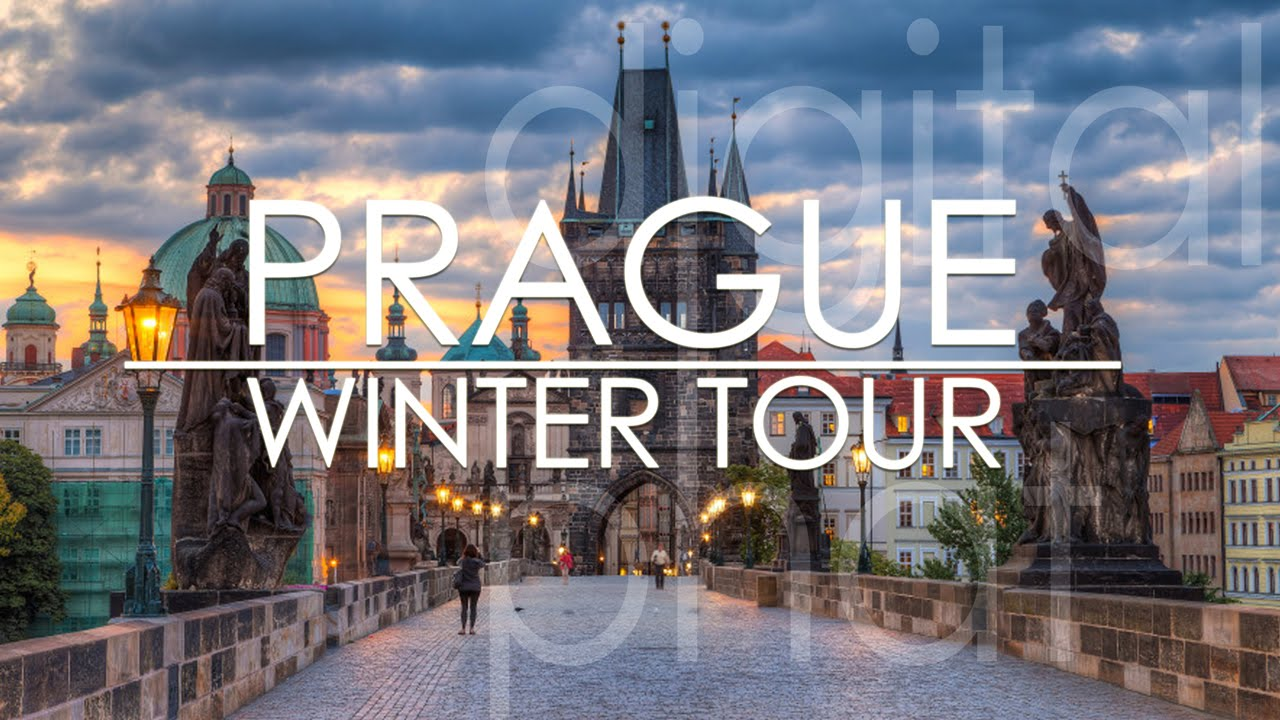 Prague Czech Republic Prag Winter Tour Youtube