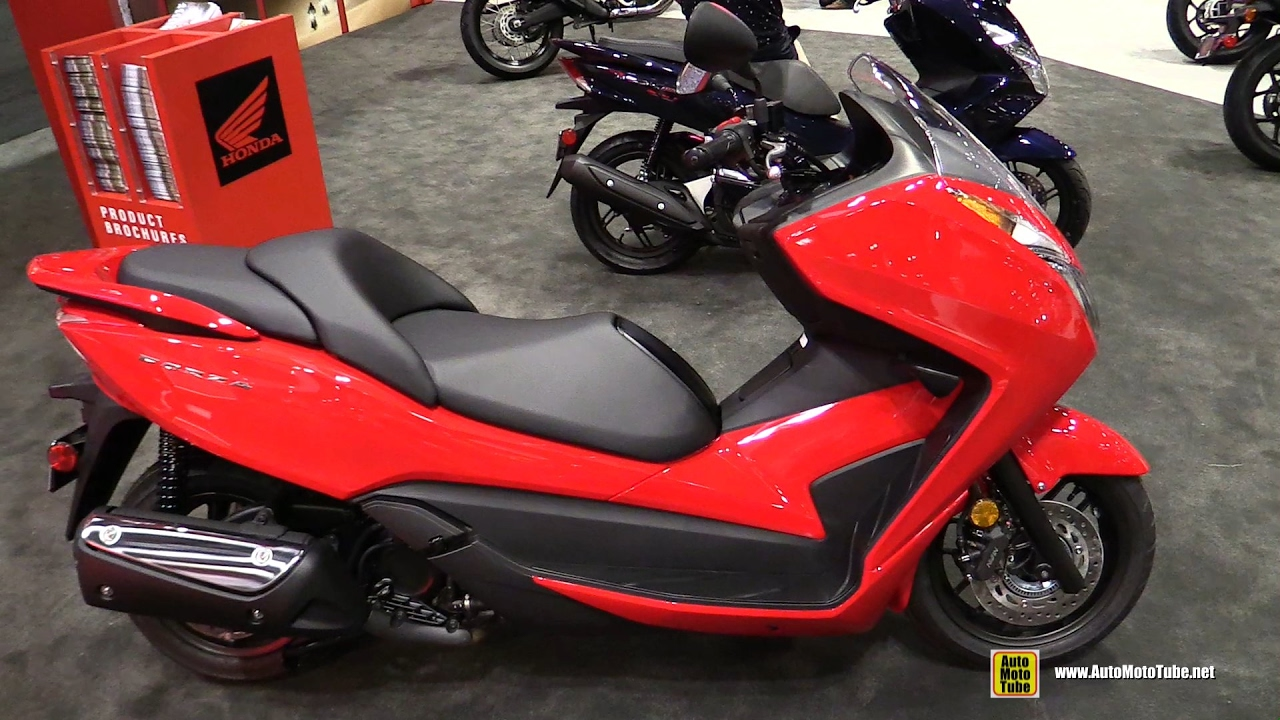 2017 honda forza 300 abs scooter walkaround 2016 aimexpo orlando youtube. Black Bedroom Furniture Sets. Home Design Ideas