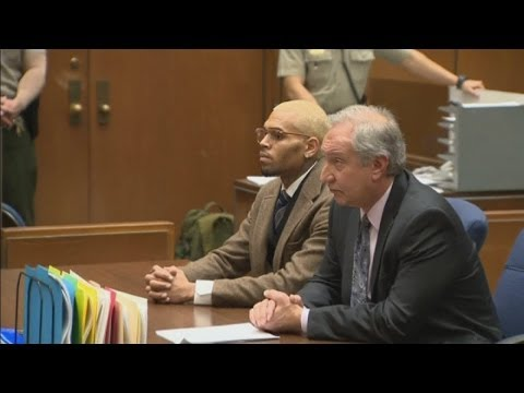 Chris Brown back in jail after being kicked out of rehab for 'anger management'