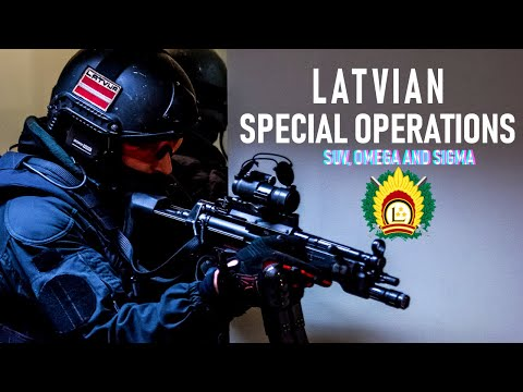 Latvian Special Ops Forces - OMEGA SUV SIGMA