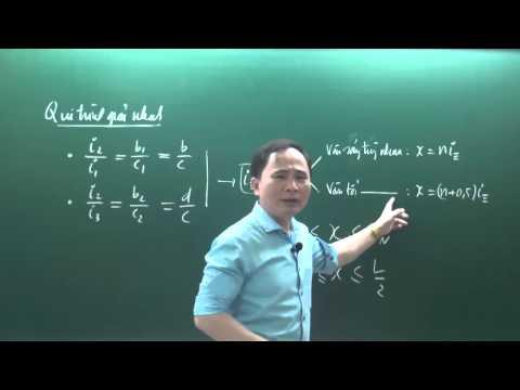 Độc chiêu trị bài toán giao thoa ánh sáng - Thầy Chu Văn Biên