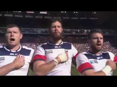 RWC 2015 Anthems - Scotland vs United States of America [Pool B]