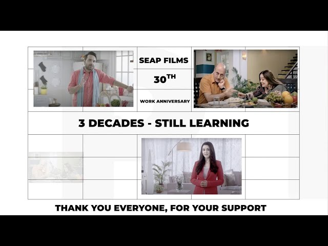 SEAP FILMS - Our 30th Work Anniversary - We Do Nothing But Films