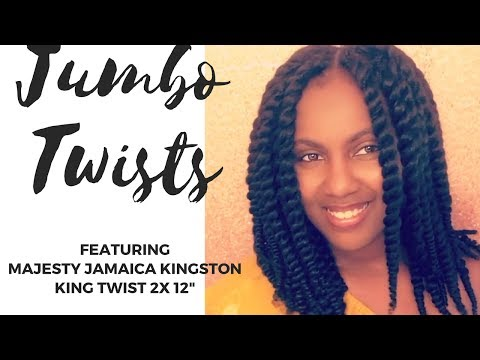 Super Versatile Jumbo Twists!! || Jamaica Kingston King Twist