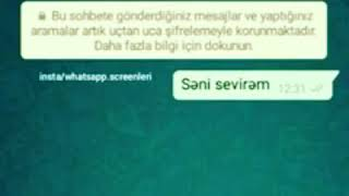 Whatsapp ucun Videolar