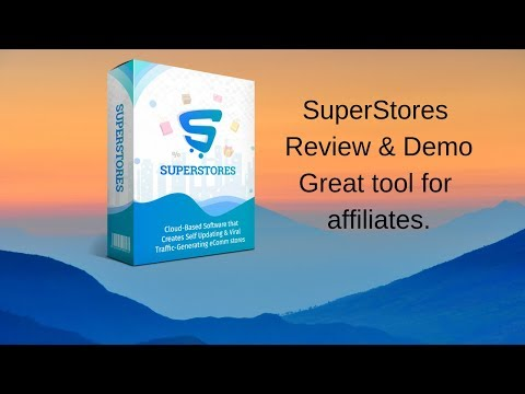 SuperStores Review and Demo. http://bit.ly/32aFp0e