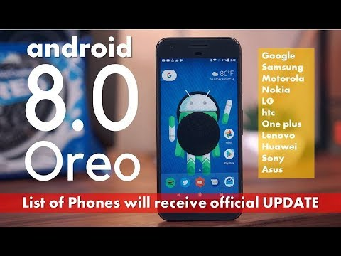 List of Phones will get Android 8 0 Oreo Update (2019)