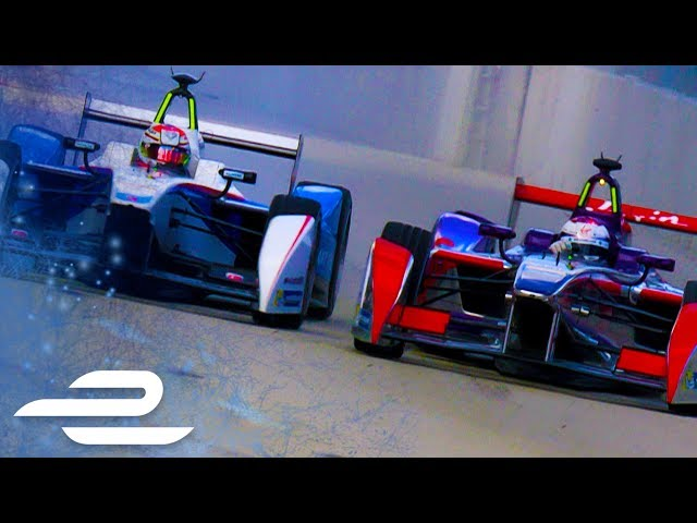 Top 5 USA Overtakes Compilation - Formula E