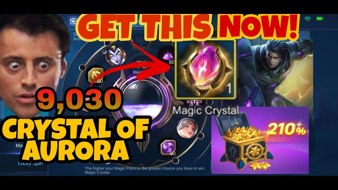Cheapest Way To Get Magic Crystal Spend Crystal Of Aurora Mobile Legends Youtube