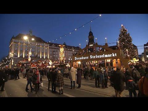 Weihnachtsmarkt In Dresden.ältester Deutscher Weihnachtsmarkt In Dresden Eröffnet