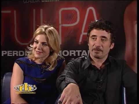 Claudia Gerini, Federico Zampaglione, intervista, Tulpa, RB Casting