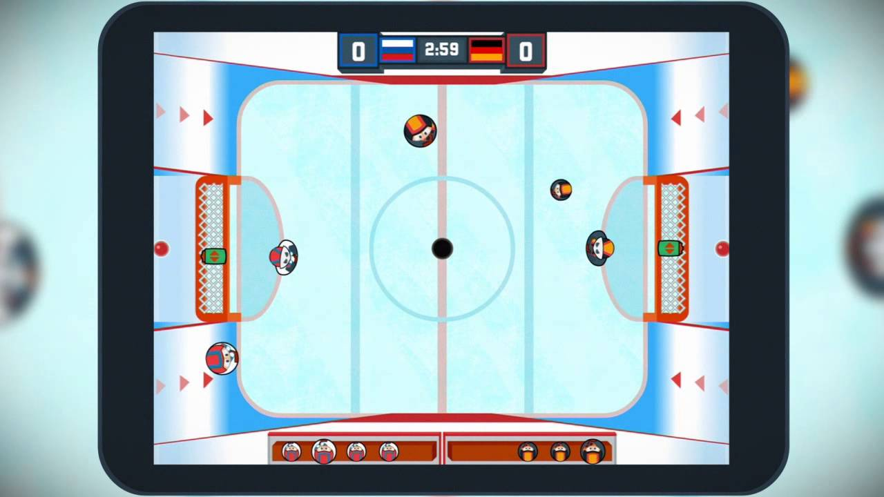 Across The Table - Hockey. A New Type of Hockey Game!