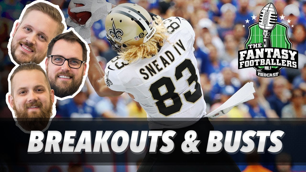 Fantasy football sleepers, busts and breakouts for 2017 revisited