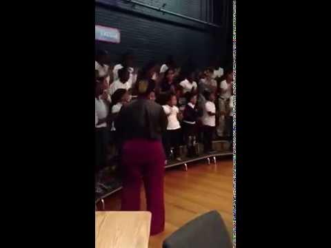 Lincoln Bassett School Gospel Choir