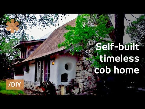 Austin coder builds timeless cob home using precise patterns