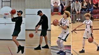 LaMelo Ball Half Court Basketball Trick Shots Challenge!