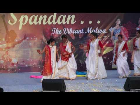 Bengal Theme Dance Spandan 2017 (Malwa Institute fo Technology,Indore)