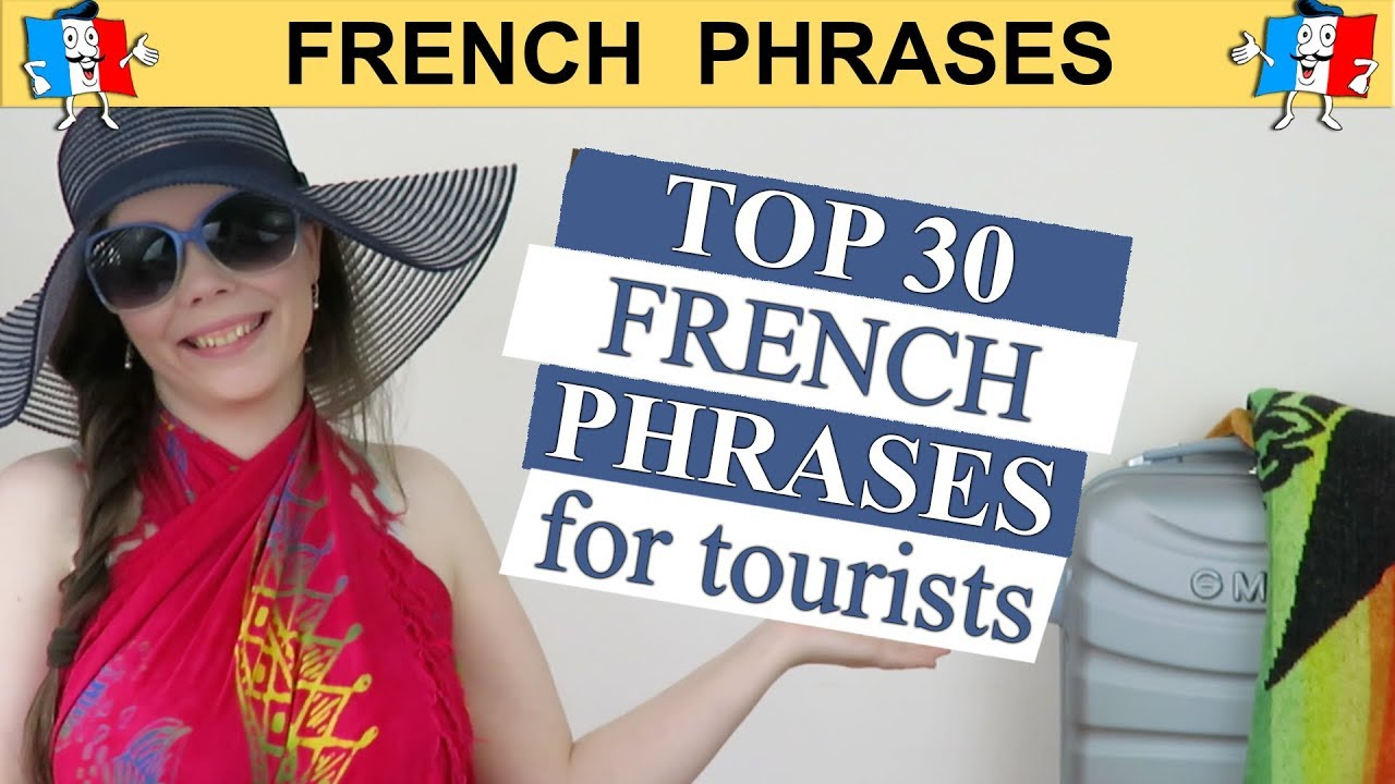 photo about French Travel Phrases Printable named Best 30 Generate FRENCH Words