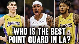 Who is The Best Point Guard On The Los Angeles Lakers | Brandon Ingram?
