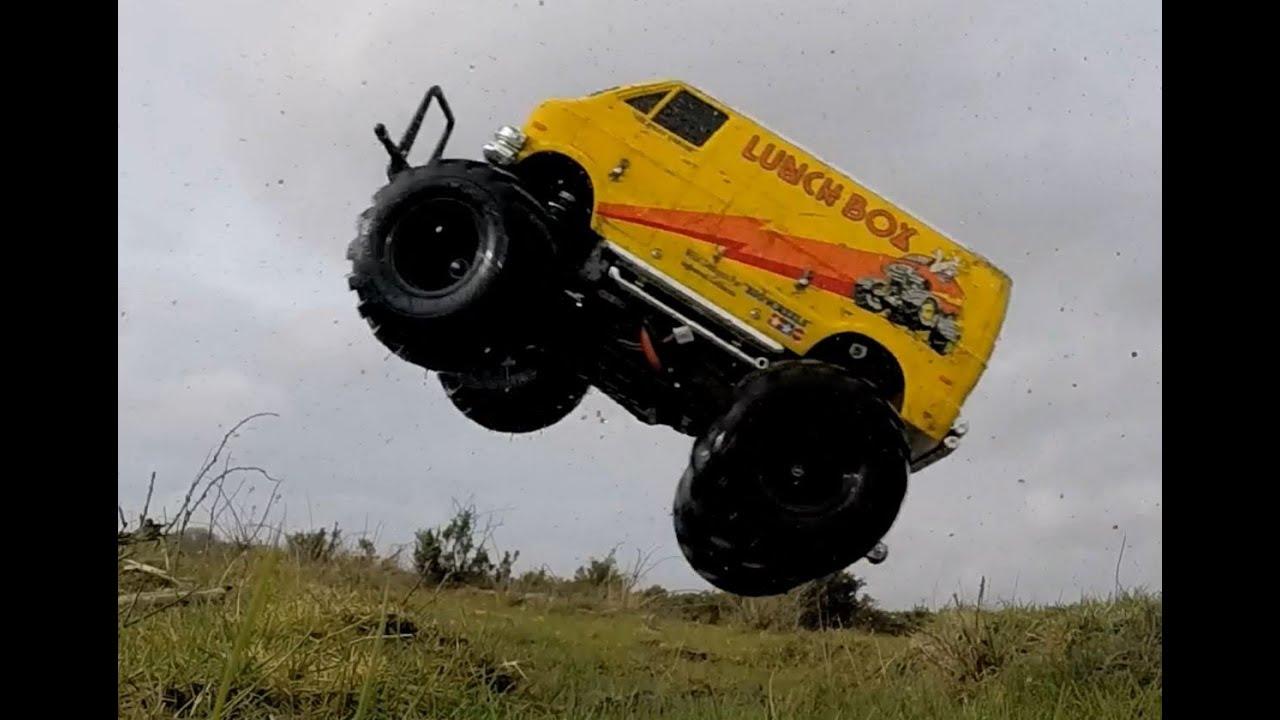 Brushless 3500kv 2s Lipo Tamiya Lunchbox Bash. Most fun RC monster truck ever ? - YouTube & Brushless 3500kv 2s Lipo Tamiya Lunchbox Bash. Most fun RC monster ... Aboutintivar.Com