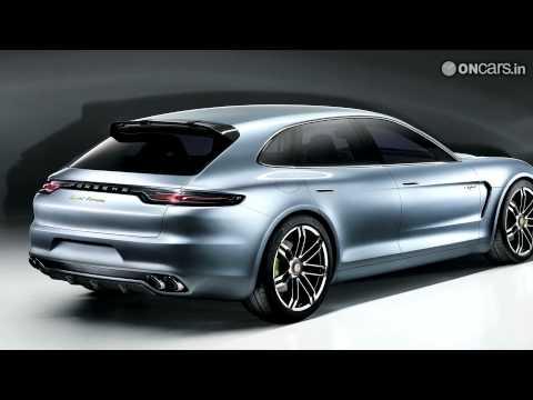 Porsche Panamera Sport Turismo concept revealed - 2012 Paris Motor Show
