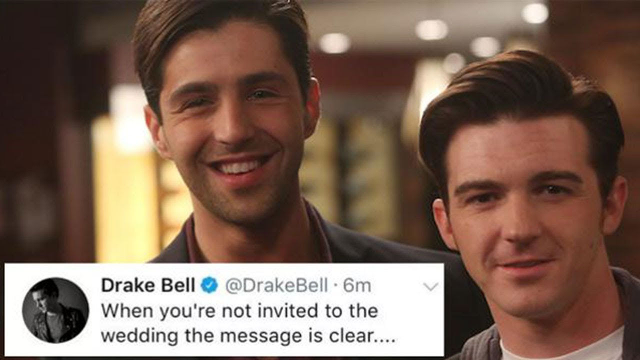 Drake Bell Wedding.Drake Wasn T Invited To Josh S Wedding Drake Josh