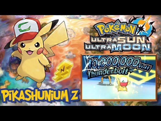 How To Get Pikashunium Z Ash Hat Pikachu Qr Code Pokemon