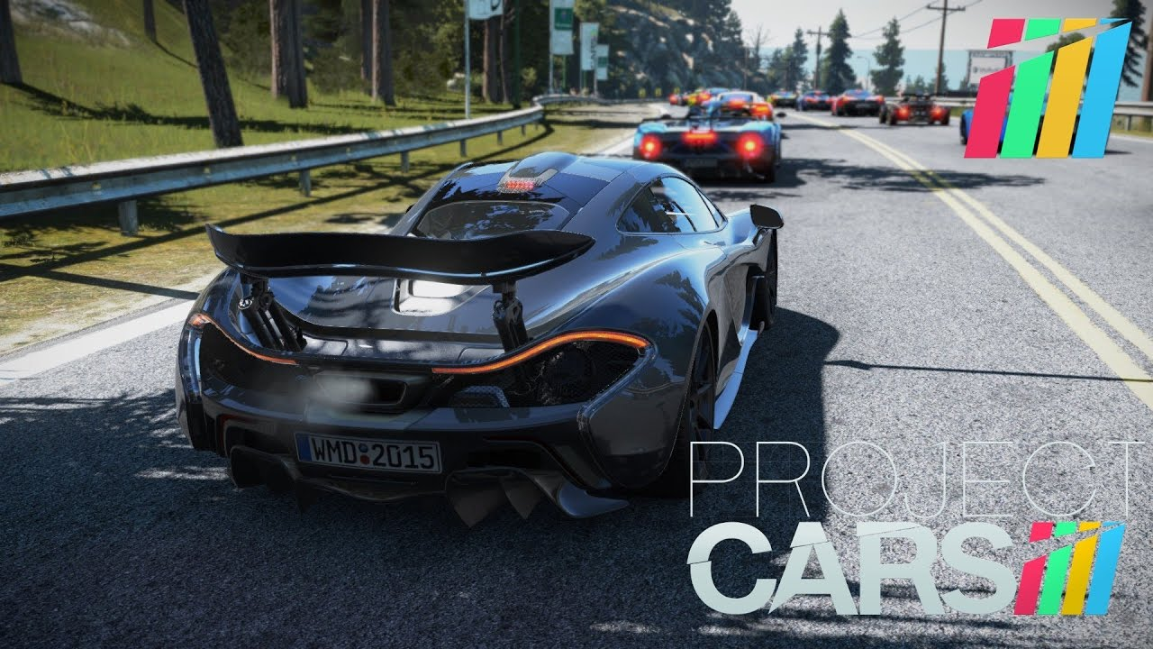 Project cars goty edition ps4 california highway - Project cars mclaren p1 ...