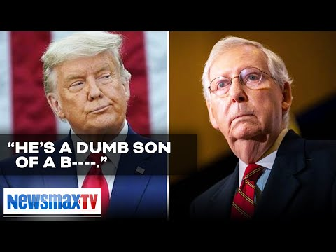 Trump SHREDS McConnell again in front of RNC donors