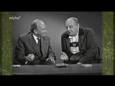 Oskar Maria Graf (Bayerischer Rundfunk, Abendschau, 1960)