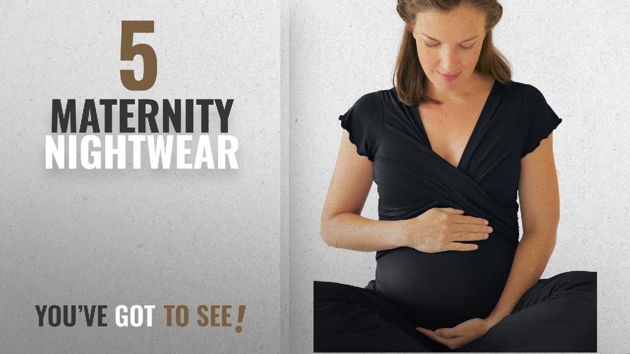 e1eb85fb48b Top 10 Maternity Nightwear [2018]: Kindred Bravely Davy Ultra Soft Maternity  & Nursing Pyjamas