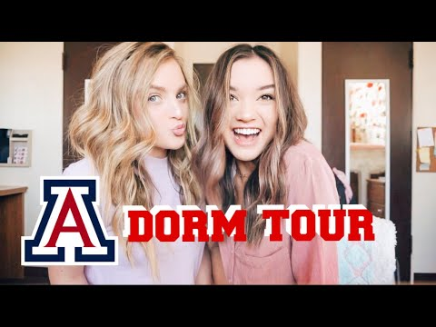 UNIVERSITY OF ARIZONA DORM TOUR
