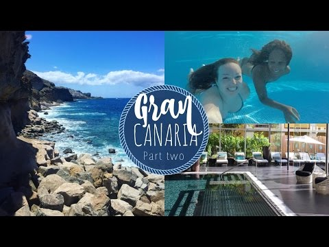 Gran Canaria Wellness Trip Vlog #2 | Seafront Infinity Pool