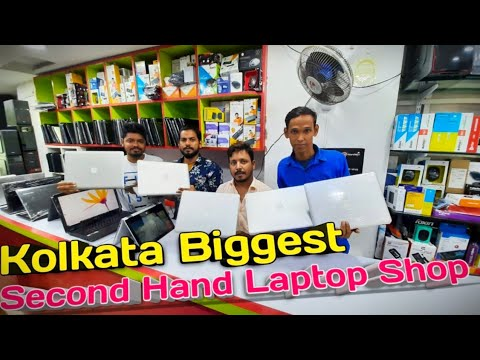 branded laptop 2nd market||cheapest used laptop market in kolkata|| By Traditional vlog