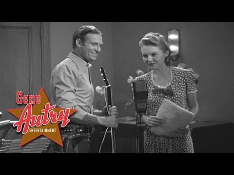 Gene Autry - Poor Little Dogie (from Colorado Sunset 1939)
