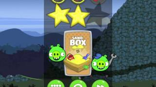 Bad Piggies Flight in the Night Level 4-33 Walkthrough 3 Star