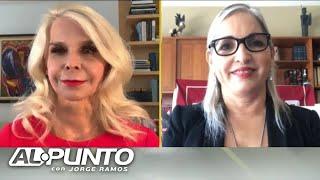 Dos hispanas defienden las acciones del presidente Trump
