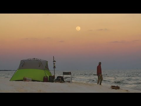 Go Beach Camping on Gulf Islands National Seashore