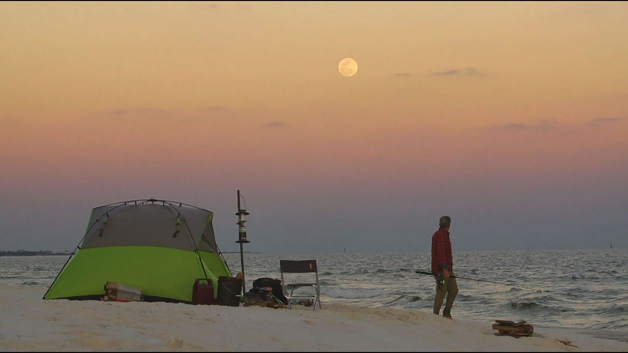 Florida Travel: Go Beach Camping On Gulf Islands National Seashore