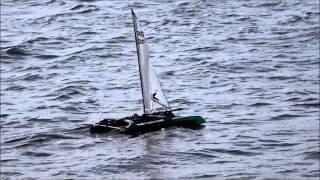 Joysway catamaran Prototype MKII.