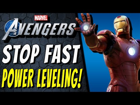 Marvel's Avengers FAST POWER LEVELING IS WRONG!   Get Power Level 150 The Correct Way