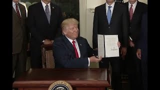 Trump Signs Order On China's Intellectual Property Laws-Full Event