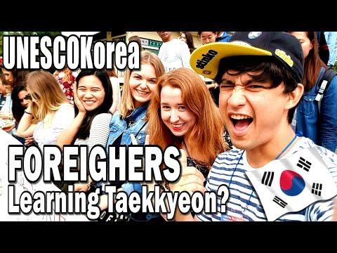 UNESCO Korea Tour VLOG!!! PT 1: Chungju Taekkyeon Training Center & The Organic Kitchen